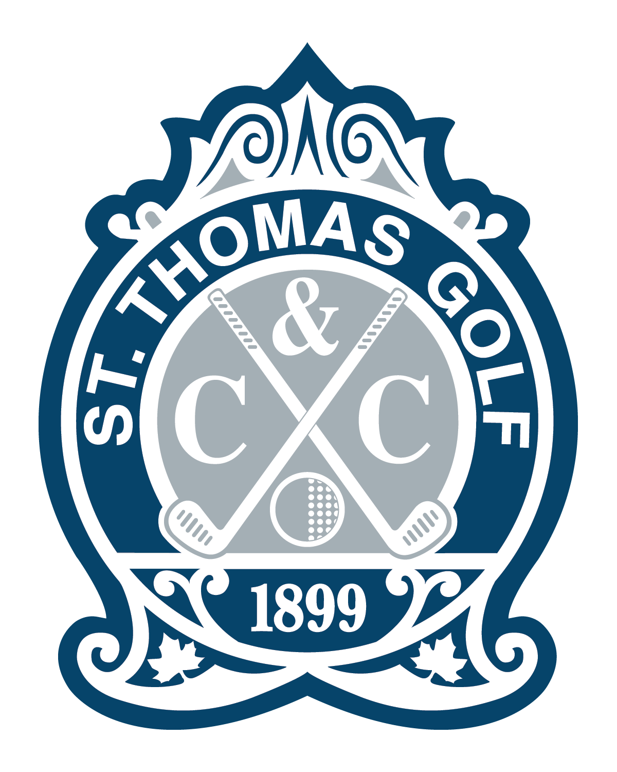 Official St. Thomas Golf and Country Club Logo